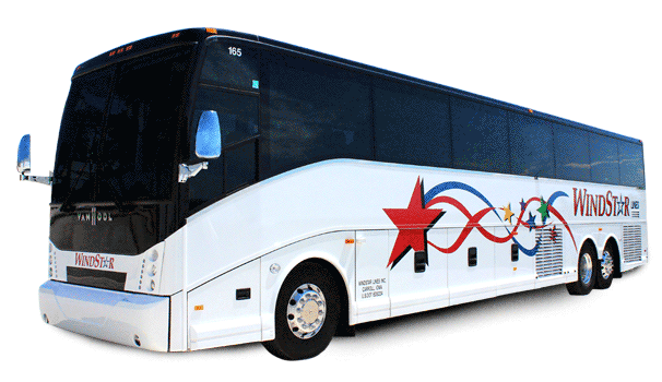 Windstar Lines 56 Passenger Luxury Motorcoach