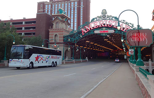 Windstar providing transportation to casino.