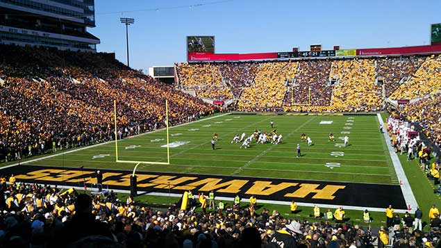 Iowa Hawkeyes Football Field