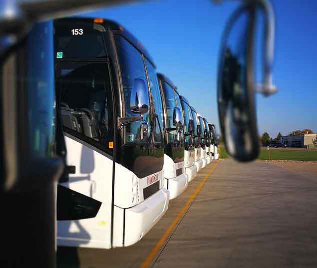 Sioux Falls, South Dakota Charter Bus